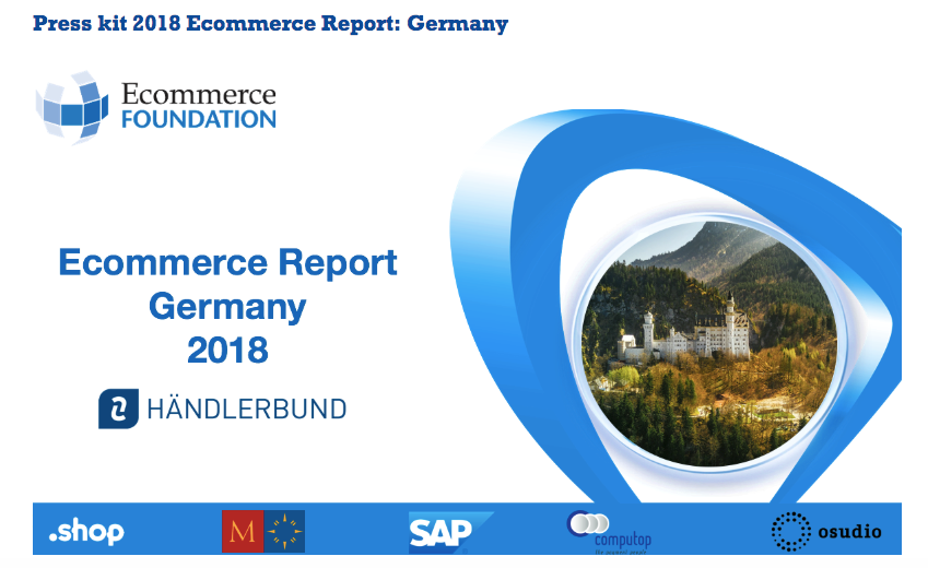 6585fd56b3 The Ecommerce Foundation released a report on the state of ecommerce in  Germany in 2018. The report has been created in cooperation with the  foundation s ...