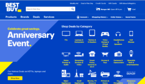 BestBuy.com Marketplace Homepage