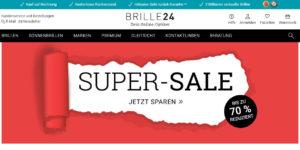 Brille24.de Homepage