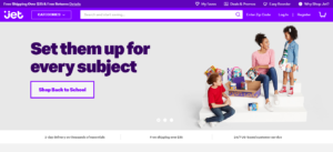 Jet.com Marketplace Homepage