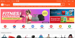 Shopee Marketplace Homepage
