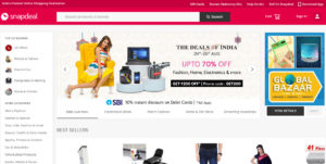 Snapdeal Marketplace Homepage